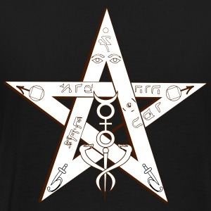 Pentagram Magic - Men's Premium T-Shirt