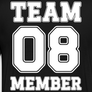 Team Member 08 - Premium T-skjorte for menn