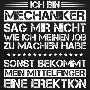 Mechaniker/Mechanikerin/Mechanik/Ansage/Geschenk - Männer Premium T-Shirt
