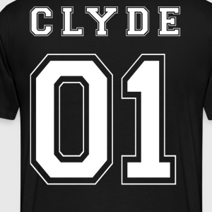 CLYDE 01 White Edition - Mannen Premium T-shirt