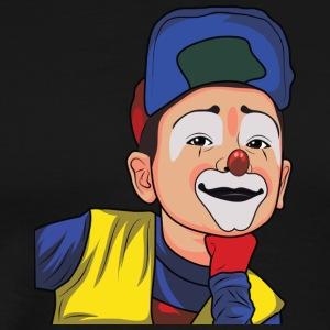 Lustiger Cartoon Clown - Geschenkidee