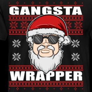Gangsta Wrapper Xmas Christmas Ugly Sweater Design