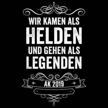 Abitur 2019 Abi Motto Sprüche Abschlussklasse Ak19 Tasse Weiß