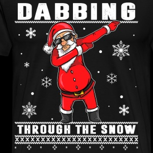 Dabbing Through The Snow - Ugly Sweater Design