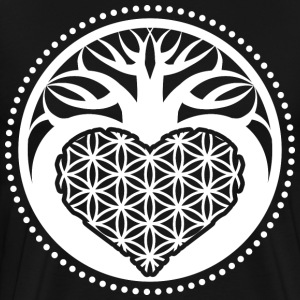 Sacred geometry tree of life flower symbol gift