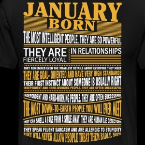 January born the most intelligent people