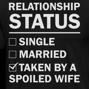 Relationship status taken by a spoiled wife
