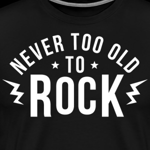 Never too old to rock