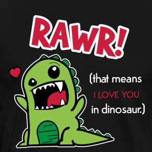 Rawr Means Love Dino Dinosaur Gift Idea