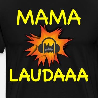Mama Laudaaa Mallorca Party 2018 Kissenhülle Spreadshirt