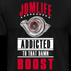 JDM LIFE - BOOST ADDICTED - clean design