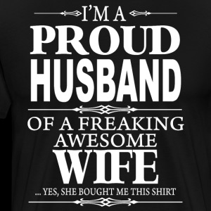 I'm a proud Husband shirt