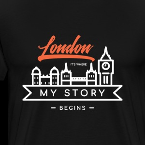 London - It's Where My Story Begins - Gift