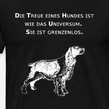 Tolles Treue Hunde Mit Spruch T Shirt Chihuahua Männer Premium T Shirt Sonnengelb