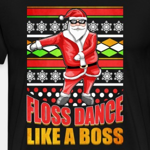 Ugly Christmas Flossing Santa