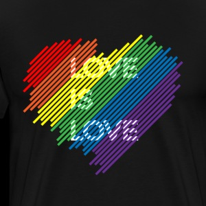 LGBT - Gay Pride Shirt Love is love