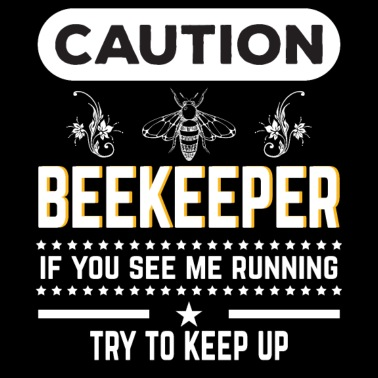 Sono una maglietta del cazzo dell'ape per gli amanti delle api Borsa di stoffa nero