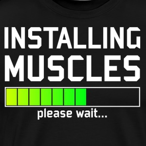 Installing muscles - Fitness muscle building mass