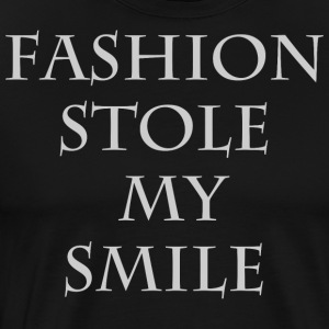 Fashion stole my smile