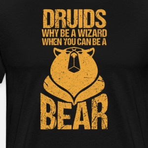 D20 Druids RPG Bear Gaming Gift