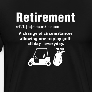 Golfer retired