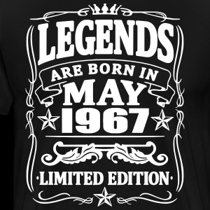 Legends are born in may 1967