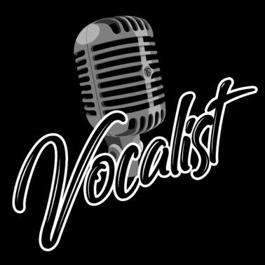 Vocalist sanger mikrofon musikk lyd Stoffveske | Spreadshirt
