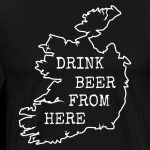 Vintage. Drink Beer from Ireland.Irish Beer Gifts.
