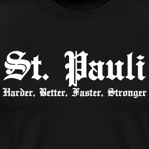 St. Pauli Harder Better Faster Strong Hamburg