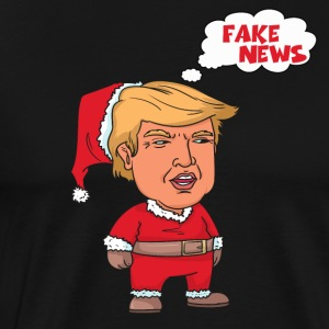 Christmas Trump Santa Claus Fake News