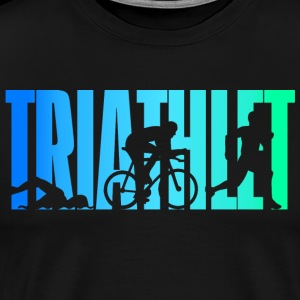 Triathlete - colorato - Triathlon