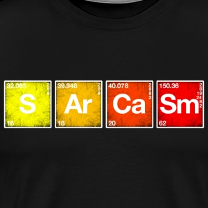Sarcasm Periodic table of the elements PSE chemistry
