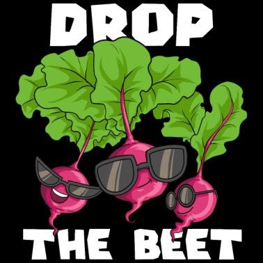 Vegan Drop Le Cadeau Végétarien Végétalien De Betterave T Shirt