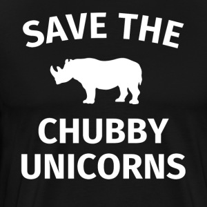 Save the chubby unicorns funny unicorn gift