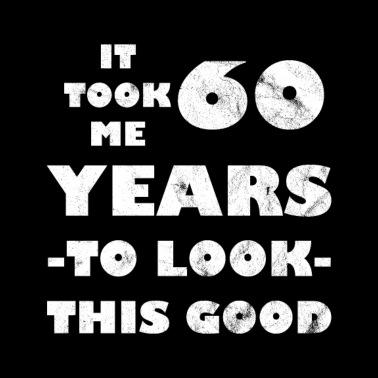 Populair 60 jaar 60ste verjaardag Mannen premium T-shirt | Spreadshirt &WI58