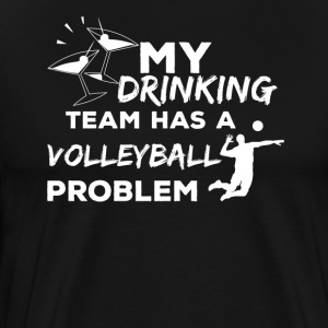 Funny volleyball design - volleyball player