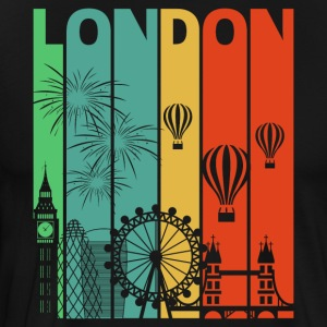 Vintage Retro London. Visit England.Londoner Gifts
