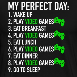 My Perfect Day: Play Video Games | Zocken Gaming