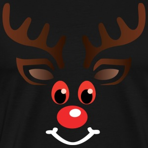 Stonee the red eyed Reindeer - Weihnachtspullover