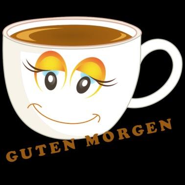 Tired Coffee Kaffee Mu De Guten Morgen Buttons Klein 25 Mm 5er Pack Weiß