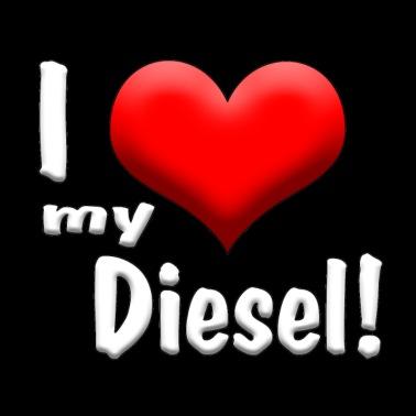 Diesel grote lul
