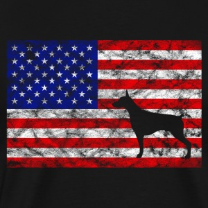 USA Flag - Doberman | for masters and mistresses