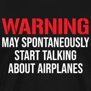 Talking About Airplanes Funny Mechanic T-Shirt