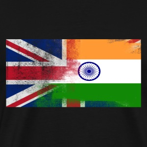 British Indian Half India Half UK Flag