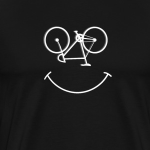 Cycling Funny Design - Smiley Bike Face