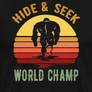 Bigfoot Funny Design - Skjul Og Søk World Champ