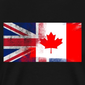 British Canadian Half Canada Half UK Flag