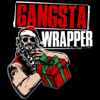 gangsta wrapper t shirt m nner premium t shirt spreadshirt. Black Bedroom Furniture Sets. Home Design Ideas