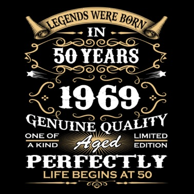 Zeer Gelukkige 50ste verjaardag Mannen premium T-shirt | Spreadshirt @EJ77