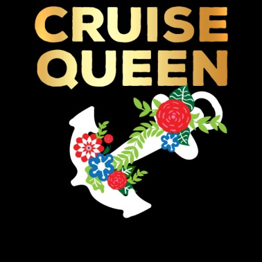 Crucero reina regalo flores mar viaje oro b6d1bc7f168c4